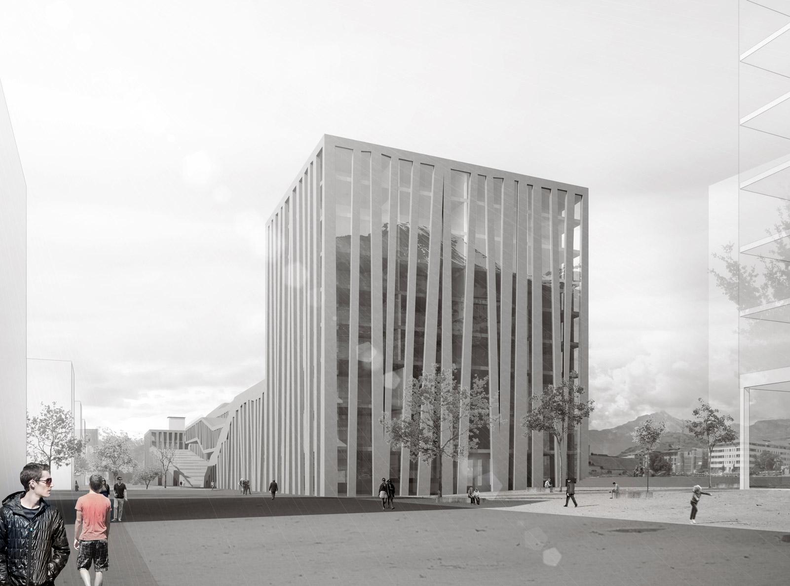 EPFL university campus / Croubalian Delacoste architectes