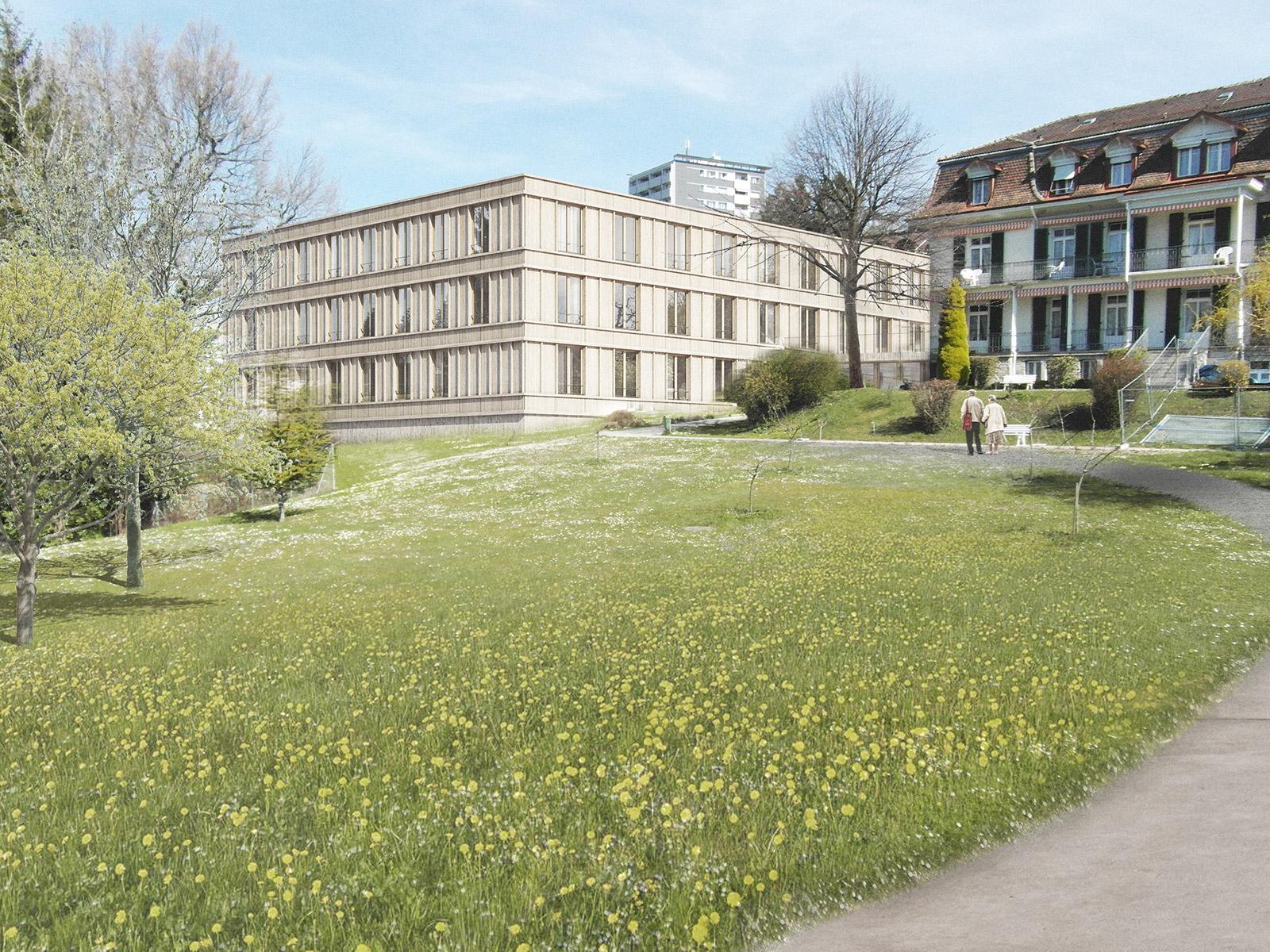 Roz i jean baptiste bruderer architecturemade for Architecture unite alzheimer