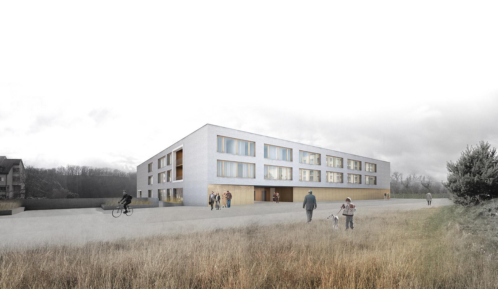 Elderly housing I Croubalian Delacoste architectes